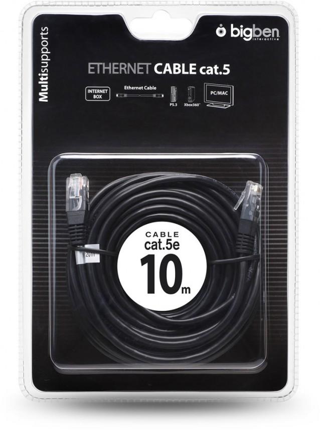Netzwerk- / Ethernet-Kabel Cat 5e – Bild
