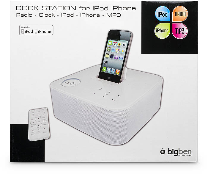 iPod/iPhone Docking Station ST01 | Bigben DE | Bigben | Audio ...