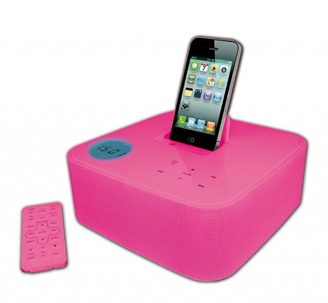 iPod/iPhone Docking Station ST01 – Bild