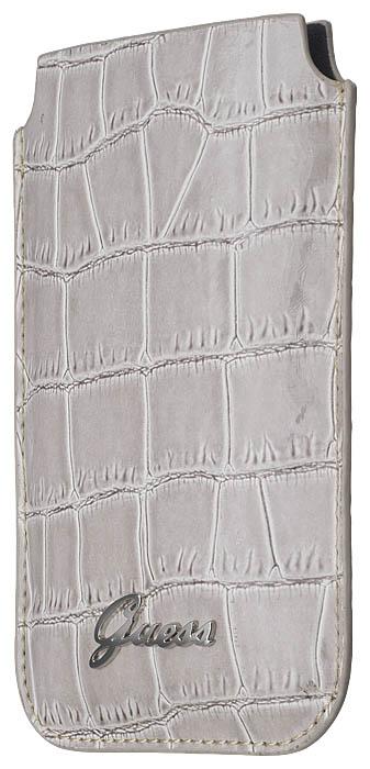 GUESS – Universal pouch [croco/beige] – Bild #3