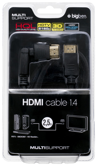 HQ HDMI Kabel 1.4/3D LX - Packshot