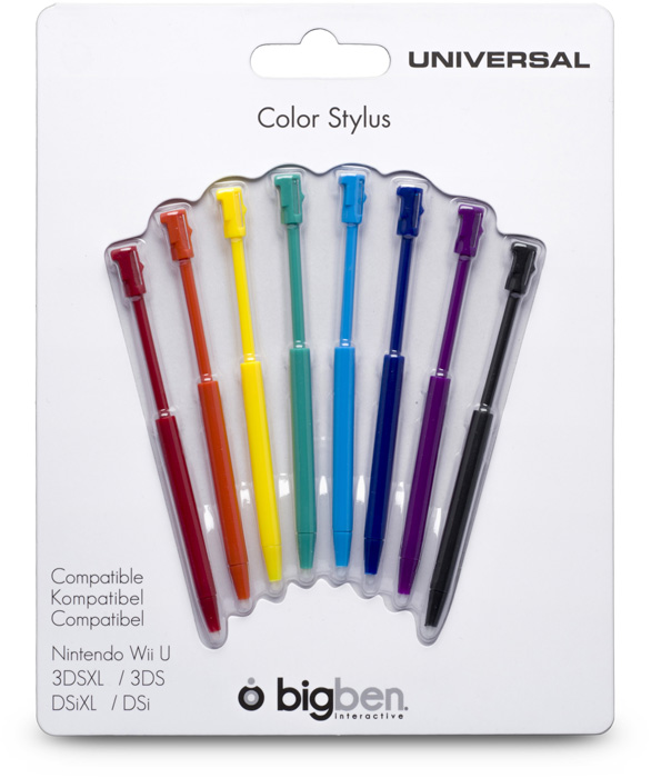 Stylus Set Rainbow - Packshot