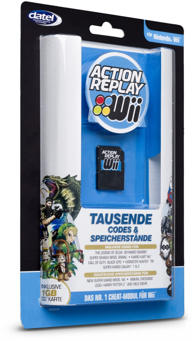 Action Replay Wii - Packshot