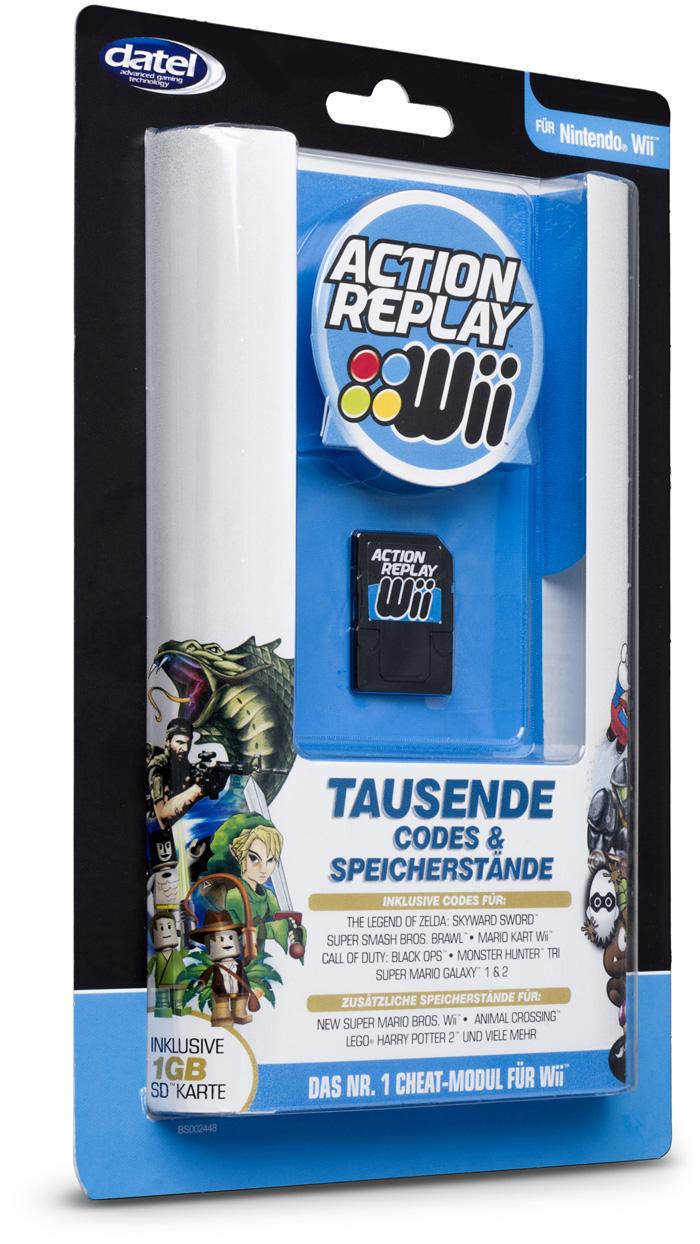 Action Replay Wii   Bigben DE   Bigben   Audio   Gaming-, Smartphone ...