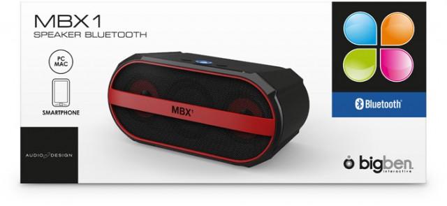 Bluetooth-Lautsprecher MBX1 – Packshot