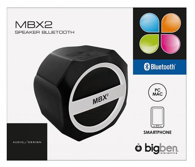 Bluetooth-Lautsprecher MBX2 - Packshot