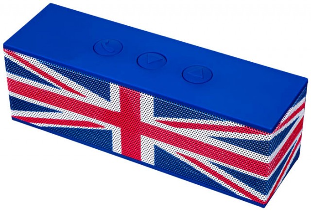 Bluetooth-Lautsprecher BT01 – Union Jack – Bild