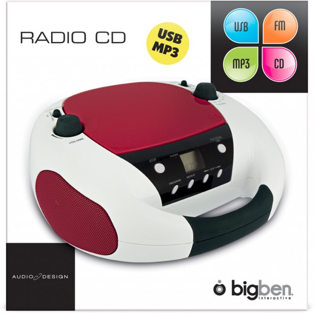 CD-Radio CD52USB - Packshot