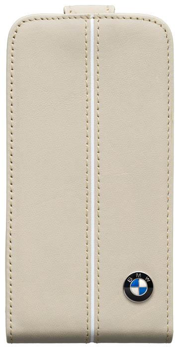 BMW – Leather Flapcase [cream] – Bild