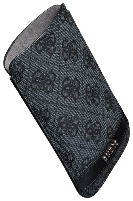 GUESS – Leather pouch [logo/grey] – Bild #1