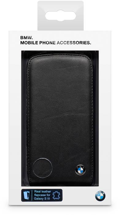 BMW – Leather Flapcase [black] – Packshot