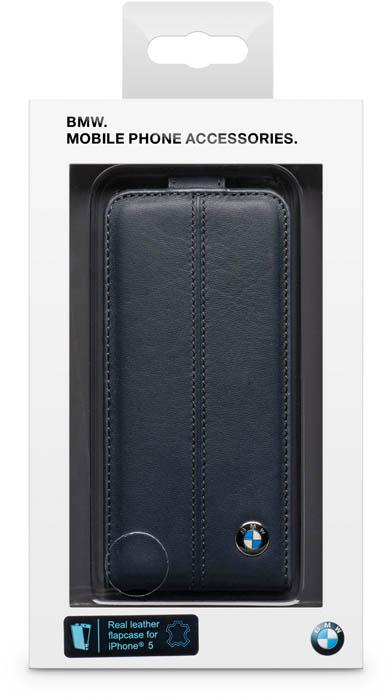 BMW - Leather Flapcase [blue] - Packshot