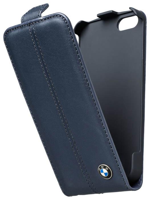 BMW – Leather Flapcase [blue] – Bild #1