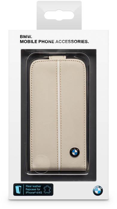 BMW – Leather Flapcase [cream] – Packshot