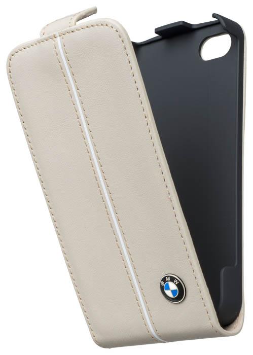BMW – Leather Flapcase [cream] – Bild #1