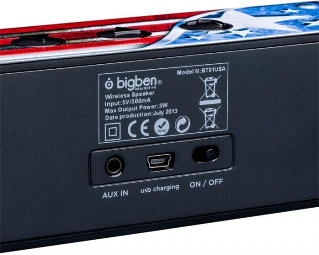 Bluetooth-Lautsprecher BT01 – USA – Bild #1