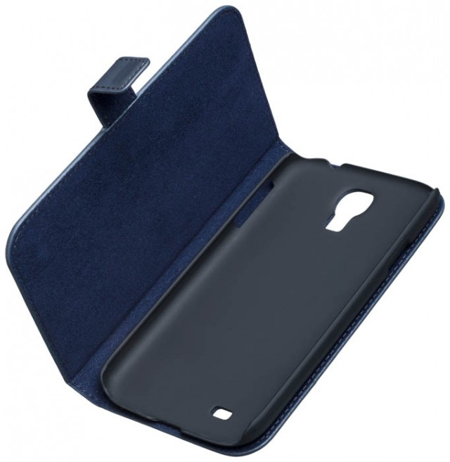 BMW – Leather Folio case [blue] – Bild