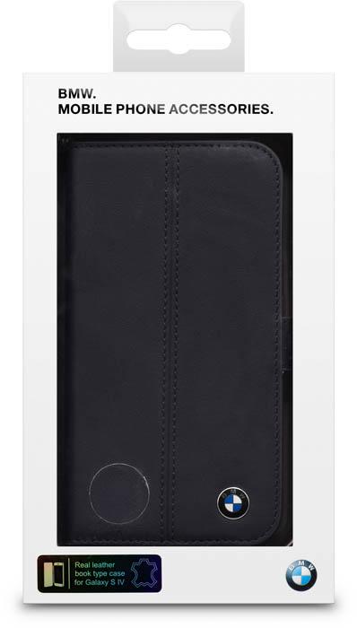 BMW - Leather Folio case [blue] - Packshot