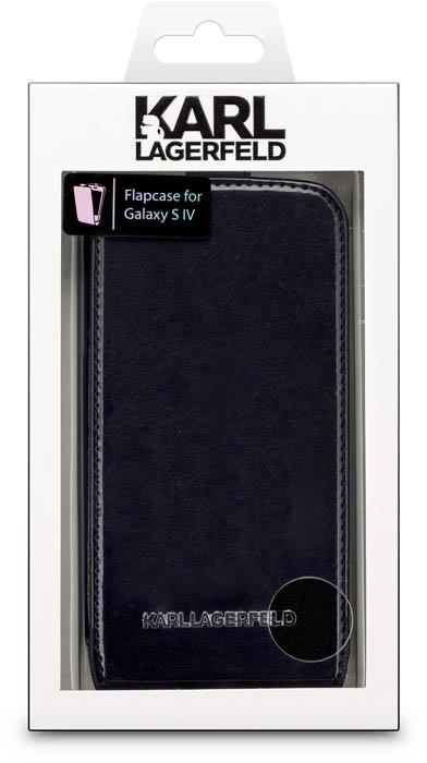 KARL LAGERFELD – Flapcase Vinyl [black] – Packshot