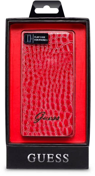 GUESS - Folio case [croco/red] - Packshot