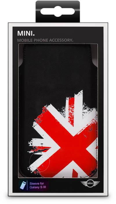MINI - Leather Pouch Union Jack [black] - Packshot
