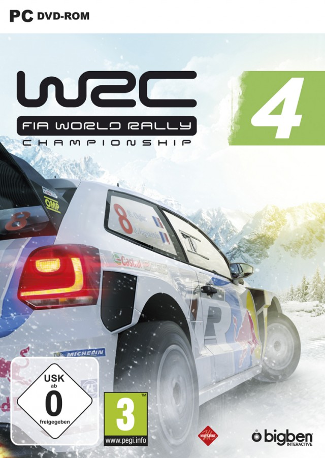 WRC 4 - Packshot