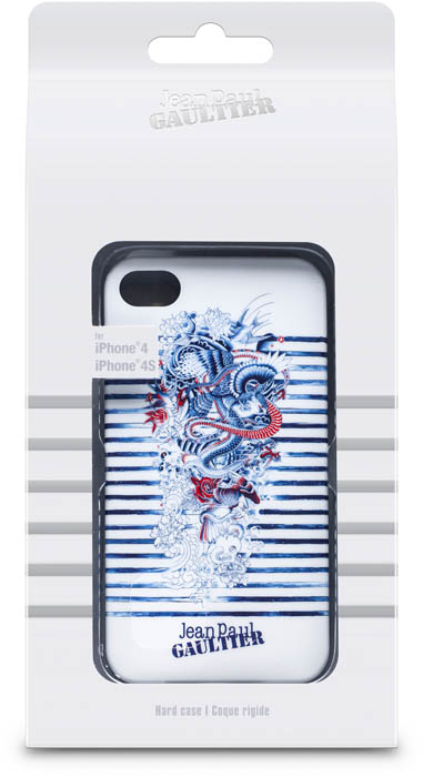 JEAN PAUL GAULTIER – Cover Tatoo [white/blue] – Packshot