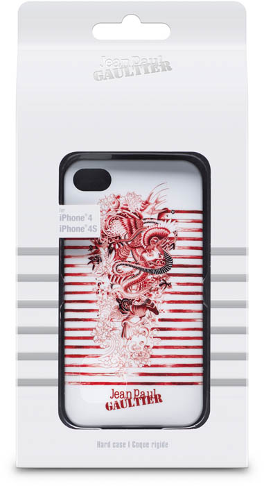 JEAN PAUL GAULTIER – Cover Tatoo [white/red] – Packshot