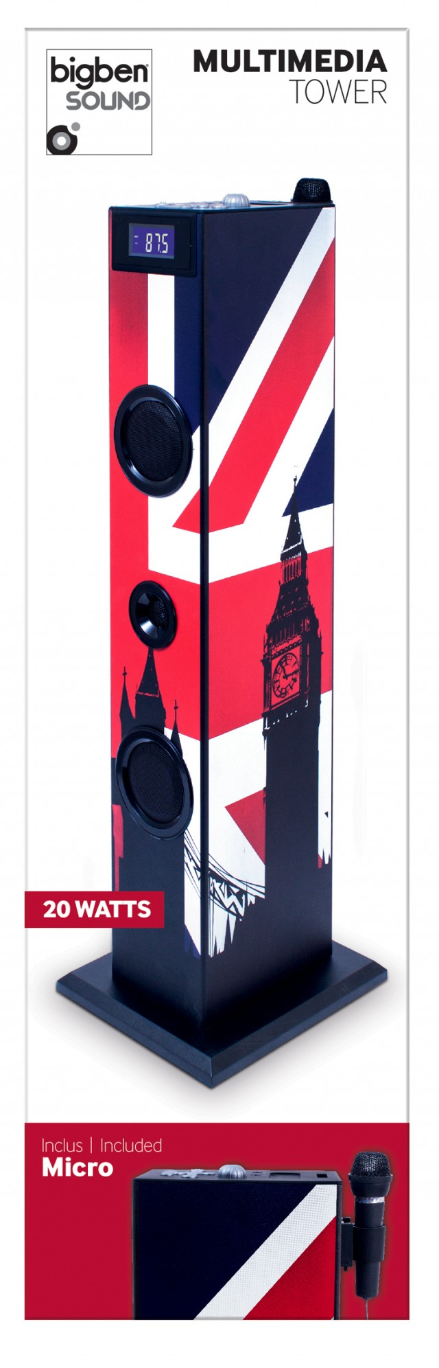 Sound Tower TW5 - Union Jack - Packshot