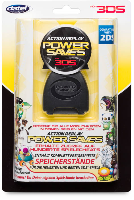 Action Replay Powersaves™ - Packshot