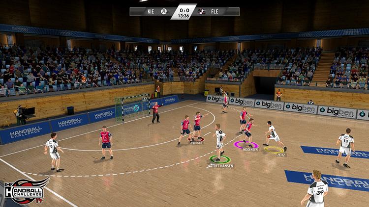 IHF Handball Challenge 14 – Screenshot #2