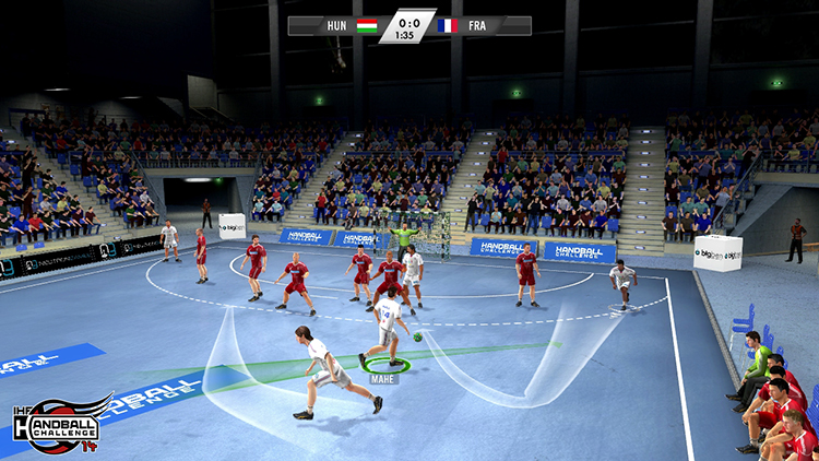 IHF Handball Challenge 14 – Screenshot