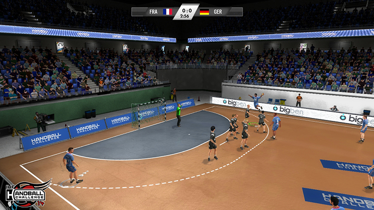 IHF Handball Challenge 14 – Screenshot #1