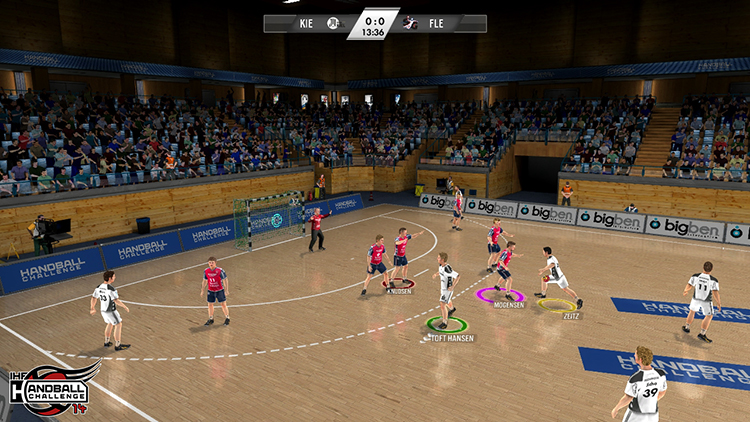 IHF Handball Challenge 14 – Screenshot #2