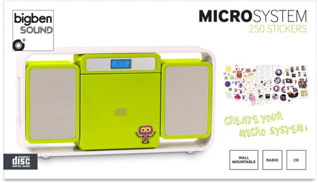 Micro-Kompaktanlage MCD10 Kids - Packshot