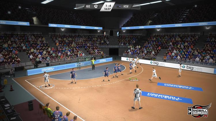 IHF Handball Challenge 14 – Screenshot #3