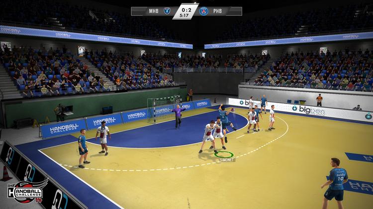 IHF Handball Challenge 14 – Screenshot #5