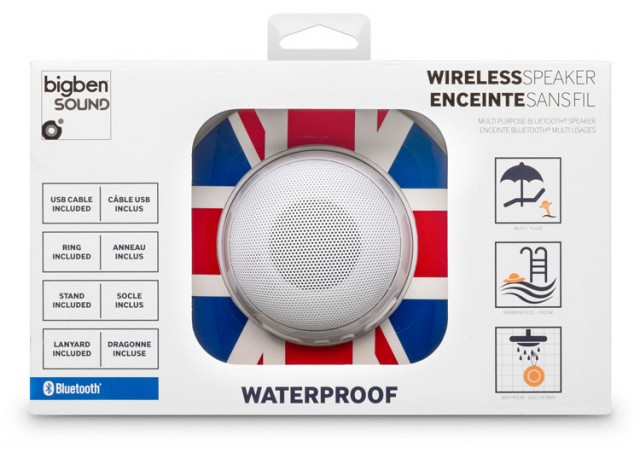 Bluetooth-Lautsprecher BT08 - Union Jack - Packshot