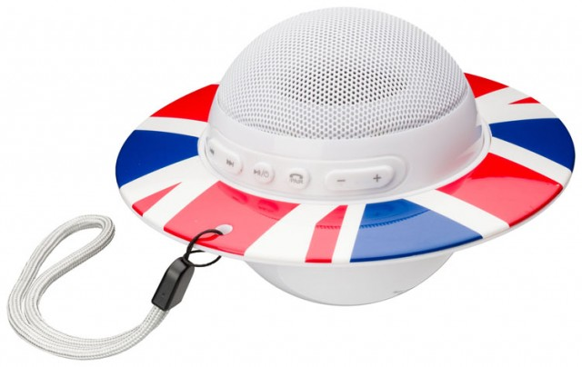 Bluetooth-Lautsprecher BT08 – Union Jack – Bild