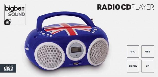 Tragbarer CD-/ MP3-Player CD32 - Union Jack - Packshot