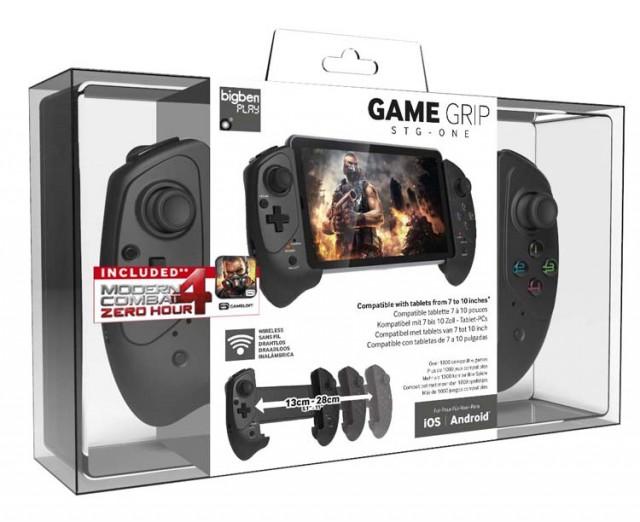 STG-ONE / Tablet Game Grip - Packshot
