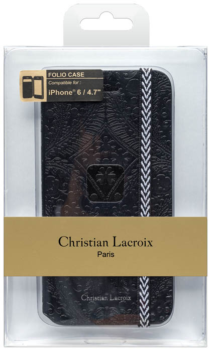 CHRISTIAN LACROIX - Folio case Paséo [black] - Packshot