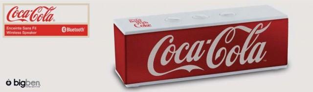 Coca Cola® Bluetooth Lautsprecher BT01 - Classic - Packshot