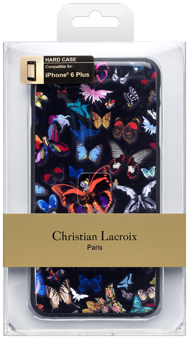 CHRISTIAN LACROIX - Cover Butterfly [black] - Packshot