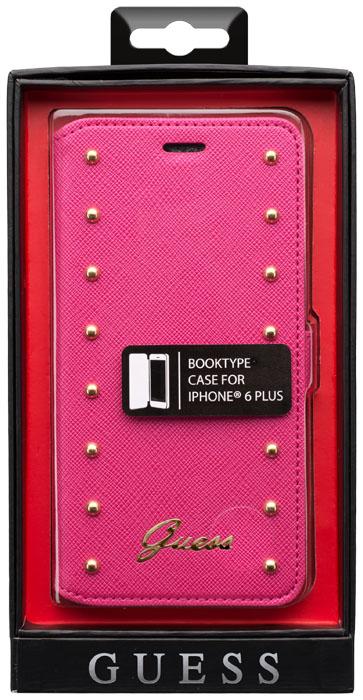 GUESS – Studded Folio case [pink] – Packshot