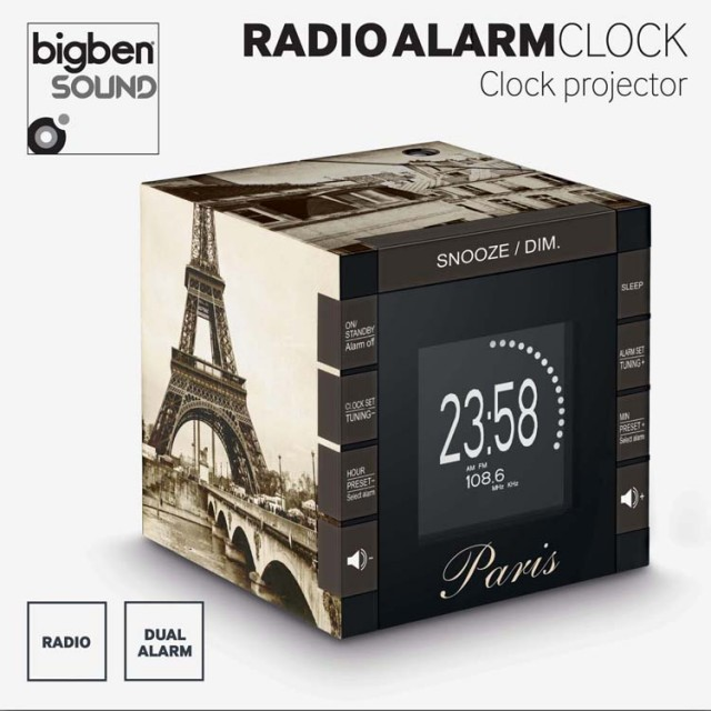 Radiowecker RR70 - Paris - Packshot