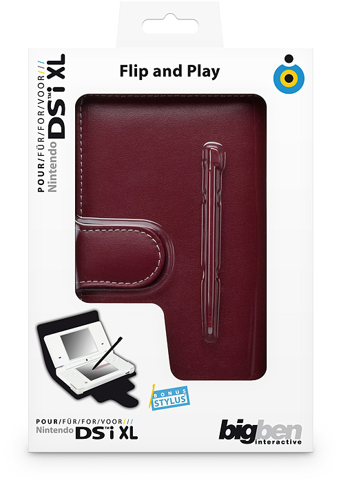 Flip & Play Protector [red] NDSi XL - Packshot