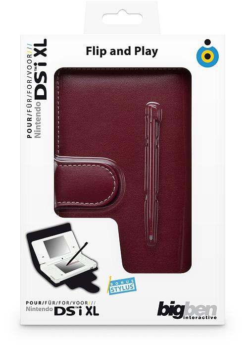 Flip & Play Protector [red] NDSi XL - Packshot