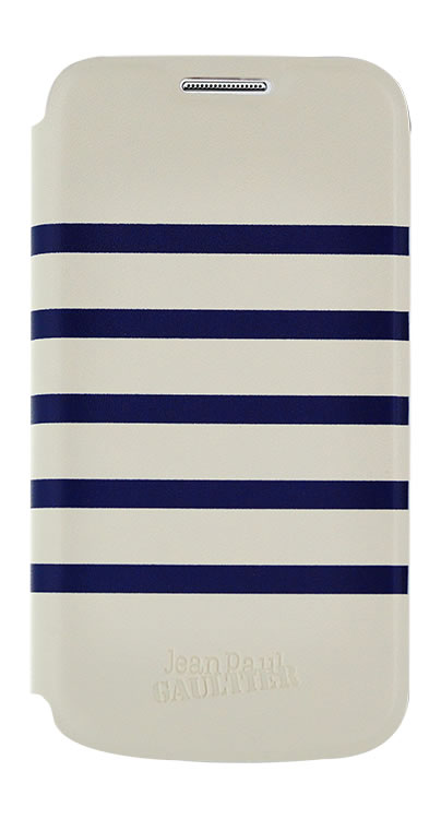 JEAN PAUL GAULTIER - Folio case Sailor [white/blue] - Packshot