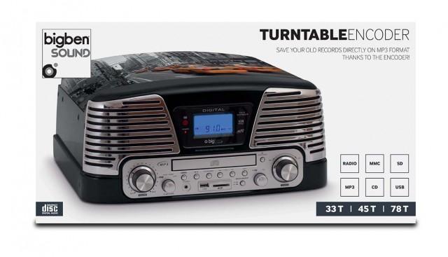 Plattenspieler TD79 II – New York – Packshot